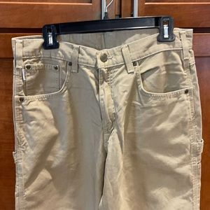 Men's Carhart khaki pants